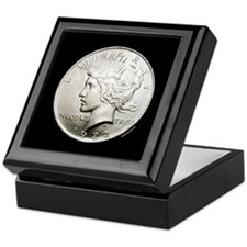 Peace Dollar Keepsake Box