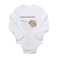 Everything's Better Deep Frie Long Sleeve Infant B
