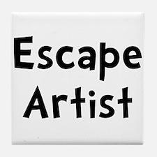 Escape Artist Tile Coaster