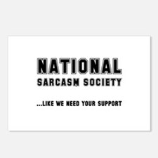 National Sarcasm Society Postcards (Package of 8)