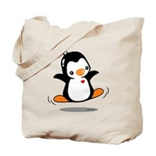 Happy Penguin (2) Tote Bag