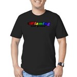 Gay Pride Men's Fitted T-Shirt (dark)