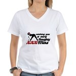 XMAS Women's V-Neck T-Shirt