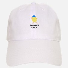 Swimmer Chick Baseball Baseball Cap