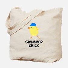 Swimmer Chick Tote Bag