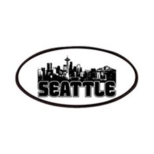Seattle Skyline Patches