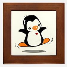 Happy Penguin (2) Framed Tile