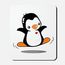 Happy Penguin (2) Mousepad