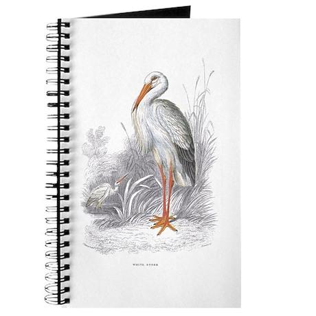 White Stork Bird Journal