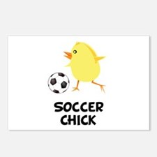 Soccer Chick Postcards (Package of 8)