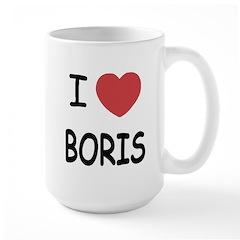 I heart boris Mug