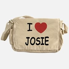 I heart josie Messenger Bag