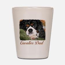 Cavalier Dad Shot Glass