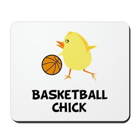 Basketball Chick Mousepad