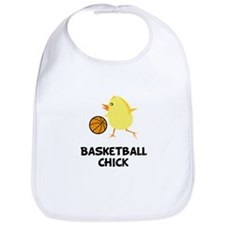Basketball Chick Bib