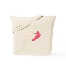Pink Wakeboard Nose Grab Tote Bag