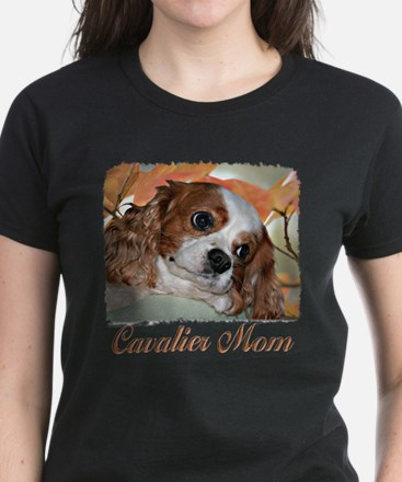 Cavalier Mom Women's Dark T-Shirt