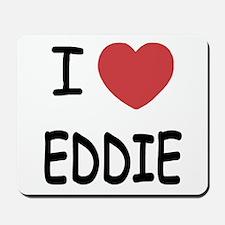 I heart eddie Mousepad