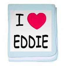 I heart eddie baby blanket