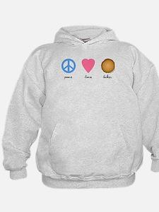 Peace Love Latkes Hoodie