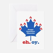 Canadian Chanuka Greeting Cards (Pk of 20)