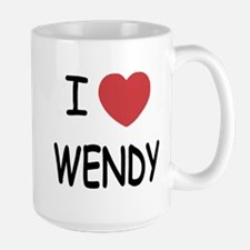 I heart wendy Mug