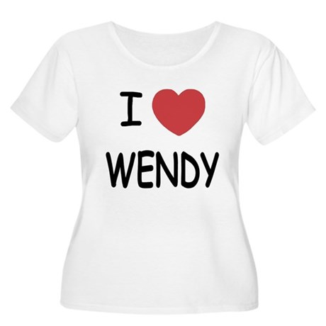 I heart wendy Women's Plus Size Scoop Neck T-Shirt