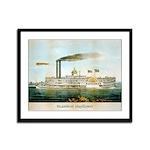 Steamboat Mayflower in New Orleans Framed Print