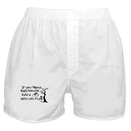 Even a brick will fly Boxer Shorts