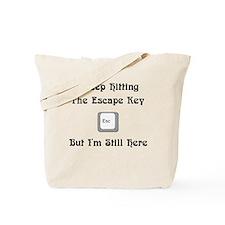 The Escape Key Tote Bag