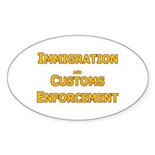 ICE 4 Oval Decal