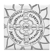 Unified Love Tile Coaster