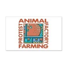 Factory Farming Wall Decal
