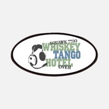 Aviation Whiskey Tango Hotel Patches