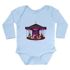 The Purple Carousel Long Sleeve Infant Bodysuit