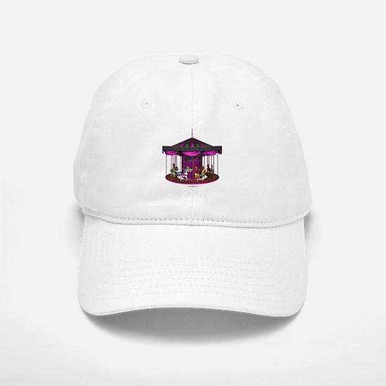 The Purple Carousel Baseball Baseball Cap