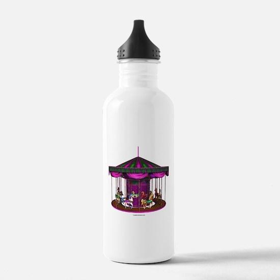 The Purple Carousel Water Bottle