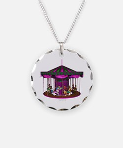 The Purple Carousel Necklace