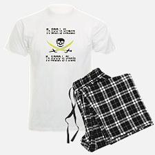 Pirates Are Human - Style 2 Pajamas