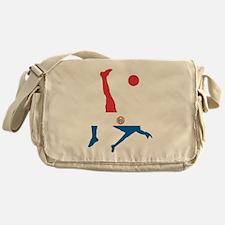 Paraguay Soccer Messenger Bag