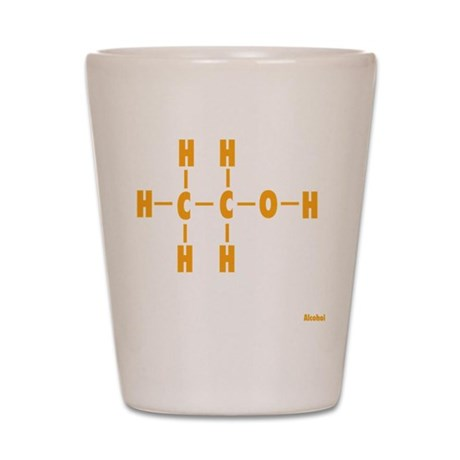 Alcohol Molecule Shot Glass