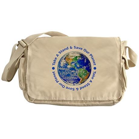 Save Our Planet! Messenger Bag