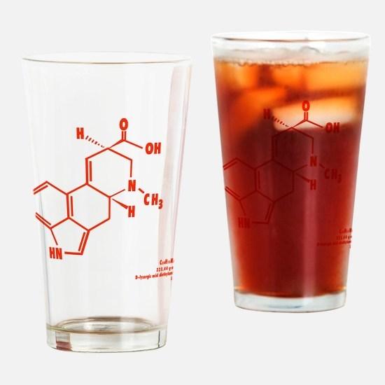 LSD Molecule - Label Drinking Glass