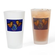 Recovery Butterfly Drinking Glass