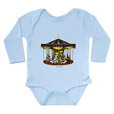 The Golden Carousel Long Sleeve Infant Bodysuit