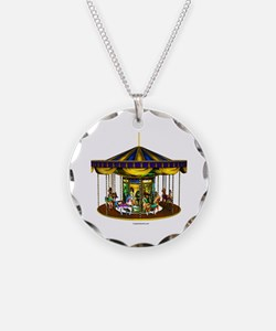 The Golden Carousel Necklace