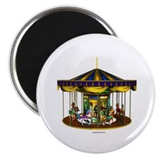 "The Golden Carousel 2.25"" Magnet (100 pack)"