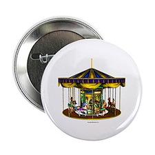 """The Golden Carousel 2.25"""" Button"""