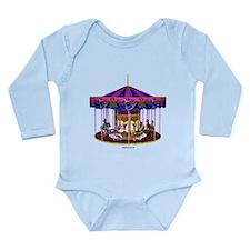 The Pink Carousel Long Sleeve Infant Bodysuit