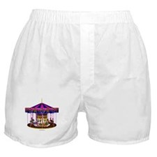 The Pink Carousel Boxer Shorts